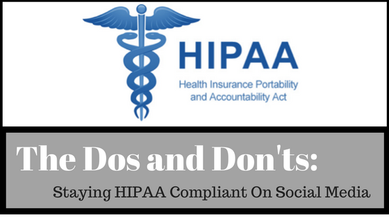 hippa, compliance, online, social media, patients, privacy