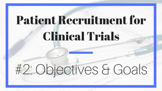 patient recruitment; clinical trials; marketing; trials
